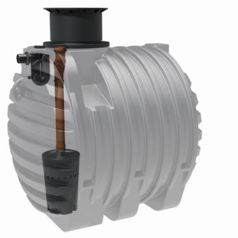 EM-WASSER 6500 Liter Regenwassertank GREENLIFE